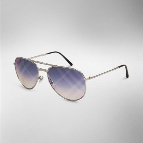 9a1976607bf8 Burberry Accessories - Burberry Check Lens Aviator Sunglasses